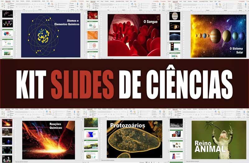 Slides de ciências página principal